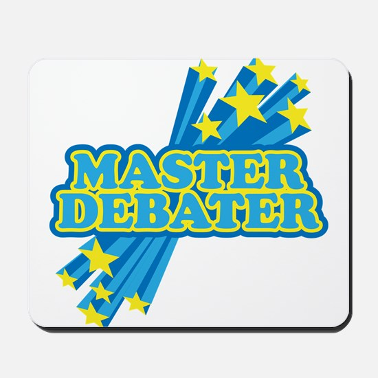 Master Debater Mousepad