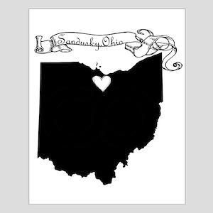 Sandusky Ohio Small Poster