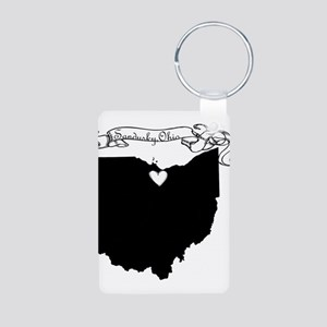 Sandusky Ohio Aluminum Photo Keychain