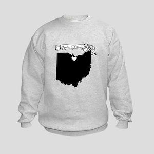 Sandusky Ohio Kids Sweatshirt