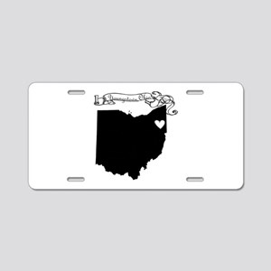 Youngstown Ohio Aluminum License Plate