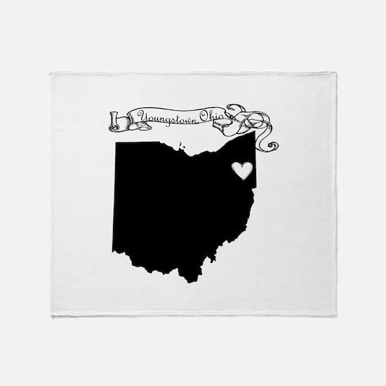 Youngstown Ohio Throw Blanket