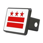 3 Stars and 2 Bars Rectangular Hitch Cover