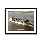 USS KANSAS CITY Framed Panel Print
