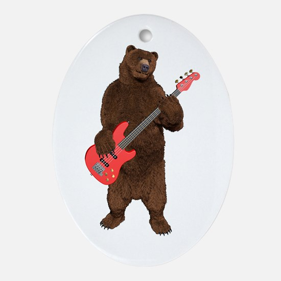 Bears Rock Ornament (Oval)