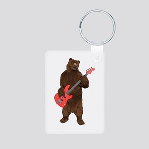 Bears Rock Aluminum Photo Keychain