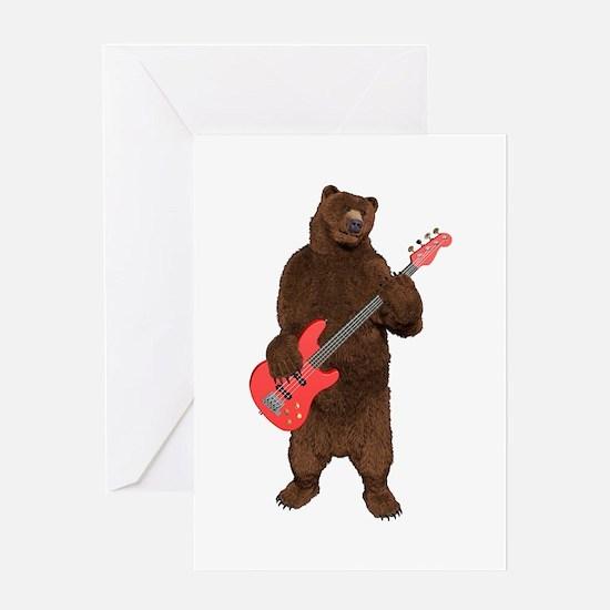 Bears Rock Greeting Card