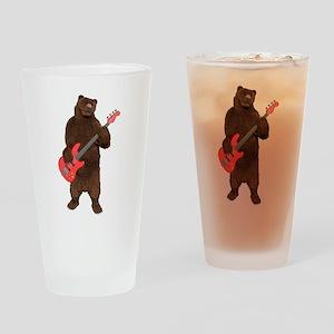 Bears Rock Drinking Glass