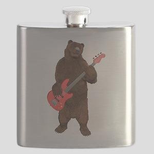Bears Rock Flask