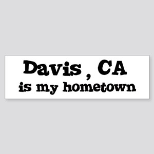 Davis - hometown Bumper Sticker