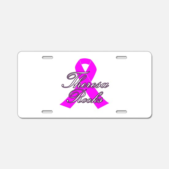 Mrs Theresa to be Aluminum License Plate