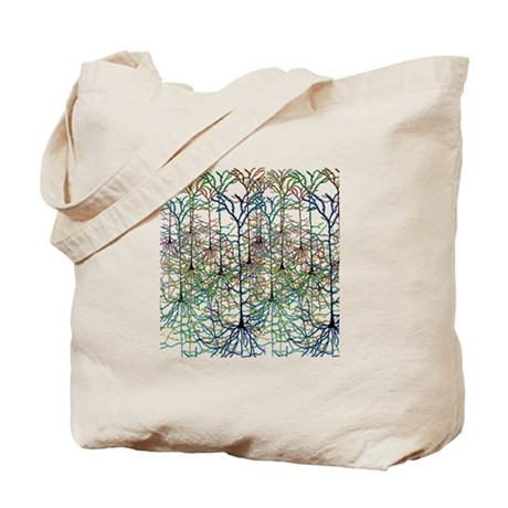 Neuron Forest Tote Bag