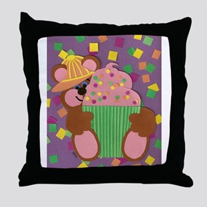 Cubcake Throw Pillow