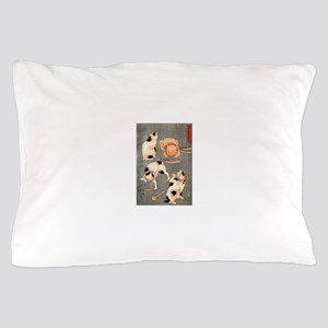 Japanese Cats Pillow Case
