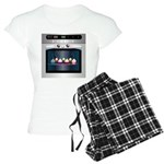 Cute Happy Oven with cupcakes Women's Light Pajama