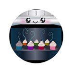 Cute Happy Oven with cupcakes 3.5