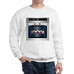 Cute Happy Oven with cupcakes Sweatshirt