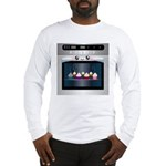 Cute Happy Oven with cupcakes Long Sleeve T-Shirt