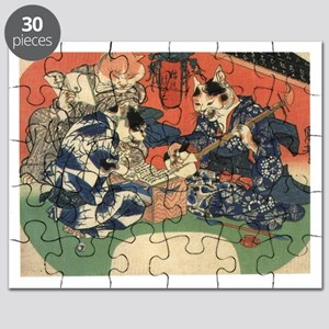 Japanese Cats Puzzle