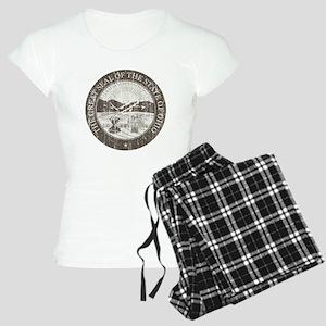 Vintage Ohio Seal Women's Light Pajamas