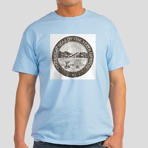 Vintage Ohio Seal Light T-Shirt