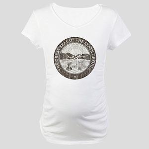 Vintage Ohio Seal Maternity T-Shirt