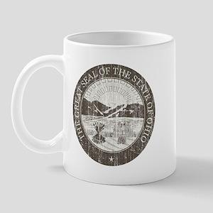 Vintage Ohio Seal Mug