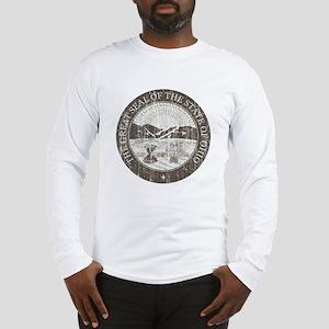 Vintage Ohio Seal Long Sleeve T-Shirt