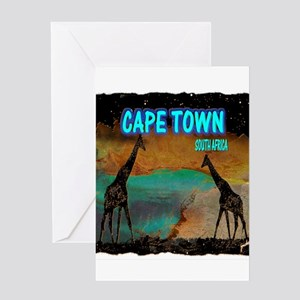 cape town africa Greeting Card