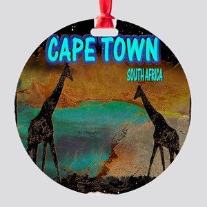 cape town africa Round Ornament