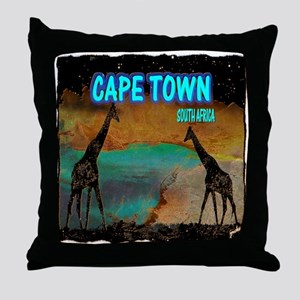 cape town africa Throw Pillow