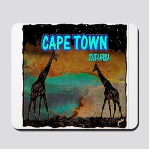 cape town africa Mousepad