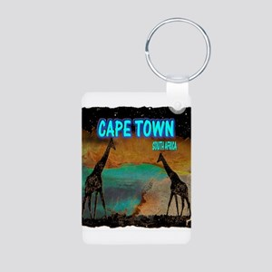 cape town africa Aluminum Photo Keychain