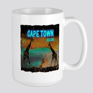 cape town africa Large Mug