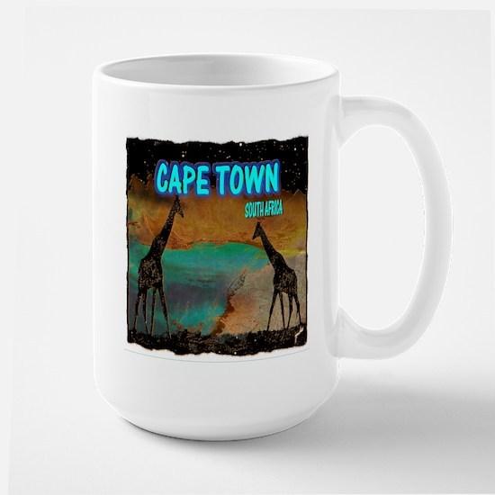 cape town africa Large Mug