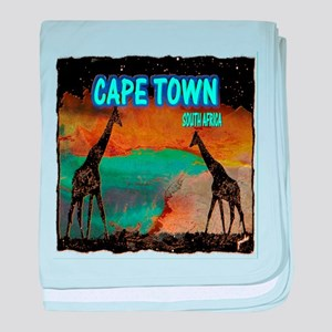 cape town africa baby blanket