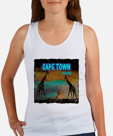 cape town africa Women's Tank Top
