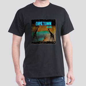 cape town africa Dark T-Shirt