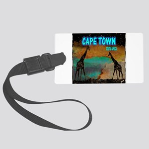 cape town africa Large Luggage Tag