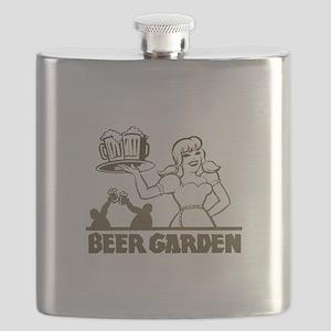 FIN-beer-garden Flask