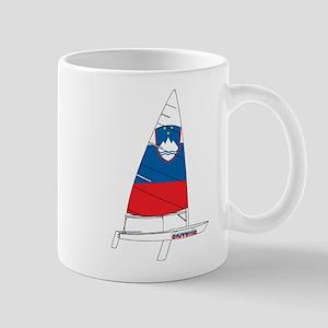 Slovenia Dinghy Sailing Mug