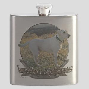 Labradors Flask