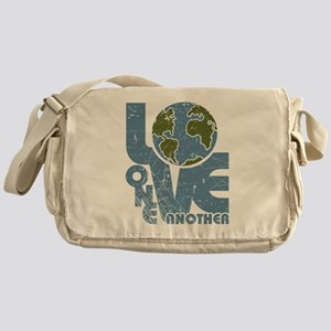 Love One Another Messenger Bag