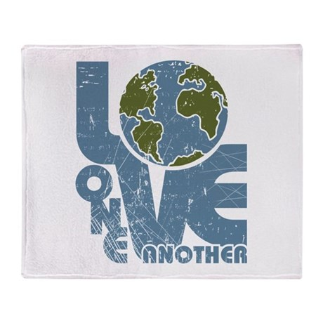 Love One Another Throw Blanket