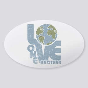 Love One Another Sticker (Oval)