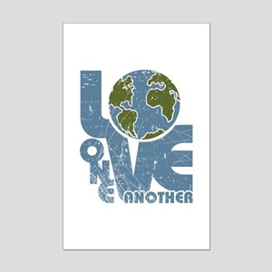 Love One Another Mini Poster Print