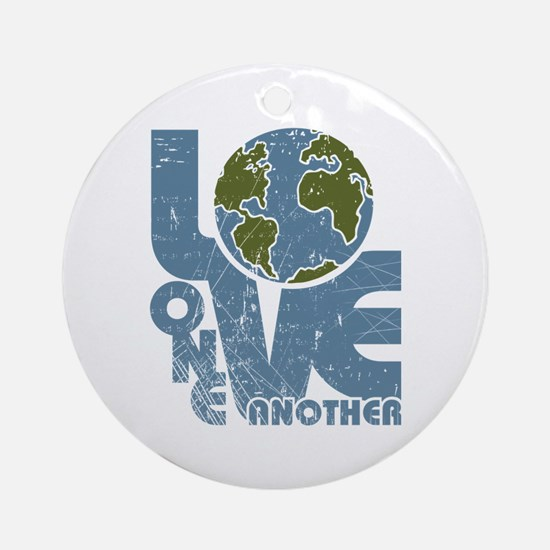 Love One Another Ornament (Round)