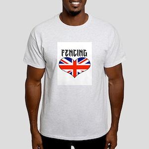 LOVE FENCING UNION JACK Light T-Shirt