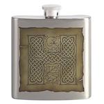 Celtic Letter H Flask