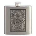 Celtic All-Seeing Eye Flask